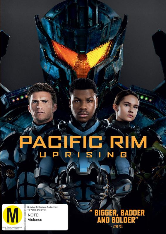 Pacific Rim 2: Uprising on DVD