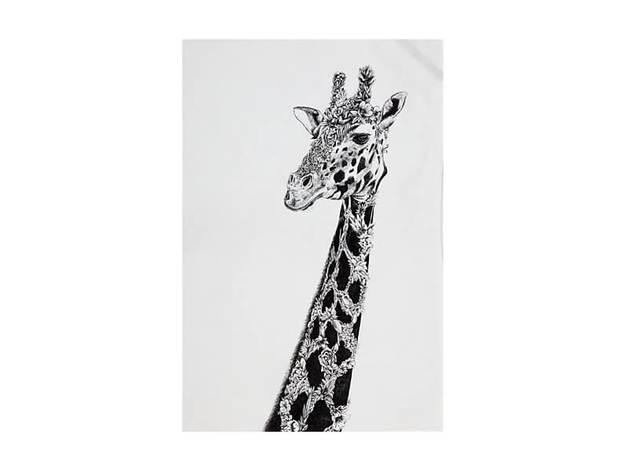 Maxwell & Williams Marini Ferlazzo Tea Towel - African Giraffe