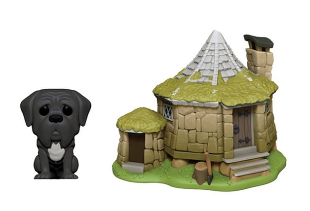 Harry Potter: Fang with Hagrid's Hut - Pop! Town Diorama Set