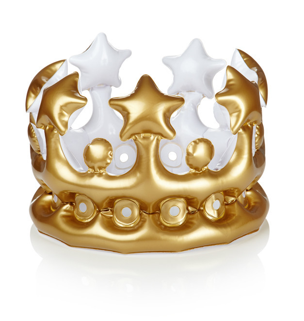 NPW Gifts: King For The Day Inflatable Crown