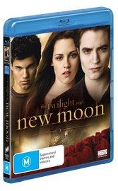 The Twilight Saga: New Moon on Blu-ray image