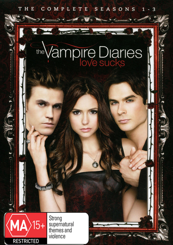 The Vampire Diaries - Seasons 1-3 on DVD