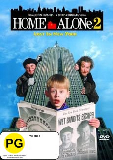 Home Alone 2: Lost in New York on DVD image
