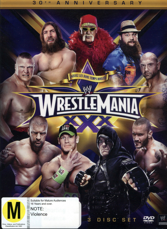 WWE Wrestlemania 30 - Collector's Edition on DVD