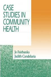 Case Studies in Community Health by Jo Fairbanks image