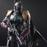 Star Wars Variant Play Arts Kai Boba Fett Action Figure