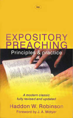 Expository Preaching by Haddon W Robinson