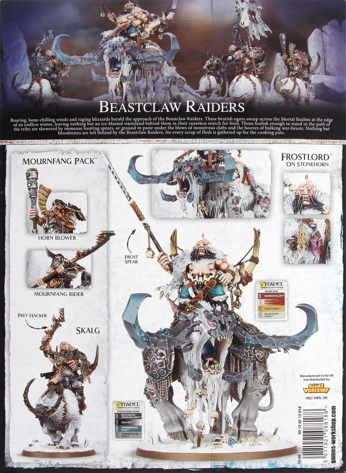 Warhammer Age of Sigmar: Start Collecting! Beastclaw Raiders image