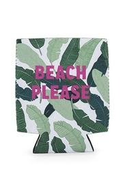 Blush: Beach Please - Beer Koozie