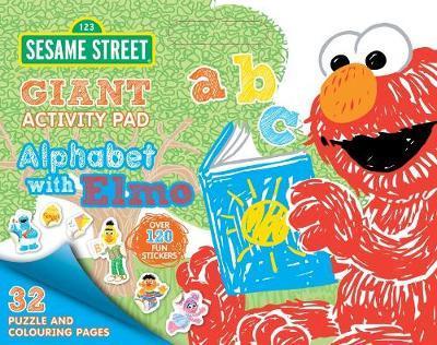 Sesame Street: Alphabet with Elmo Giant Activity Pad