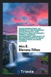 Home Dissertations by Mrs E. Stevens Tilton image