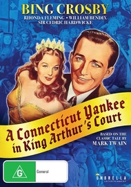 A Connecticut Yankee in King Arthur's Court on DVD