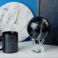 MOVA: Self Rotating Globe - Silver Constellation in Blue (11.5cm) image