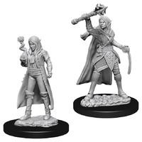 D&D Nolzur's Marvelous: Unpainted Miniatures - Female Elf Cleric image
