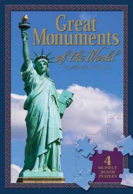 Great Monuments Jigsaw Book image