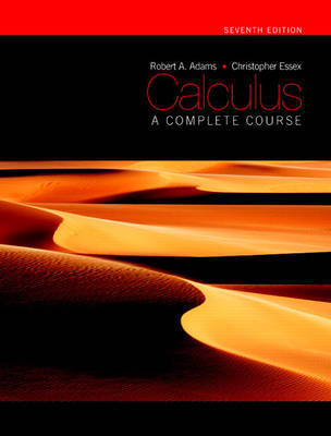 Calculus: A Complete Course by Addison Wesley image