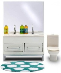 Lundby Stockholm - Bathroom Set 2010