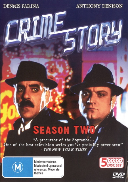 Crime Story (1986) - Season 1 (5 Disc Box Set) on DVD