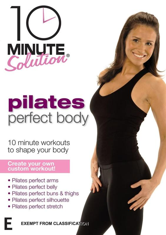 10 Minute Solution - Pilates Perfect Body on DVD