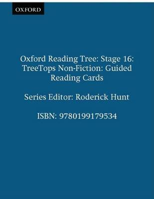 Oxford Reading Tree: Stage 16: TreeTops Non-Fiction: Guided Reading Cards