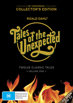 Tales Of The Unexpected - Vol. 1: 25th Anniversary Collector's Edition (3 Disc Box Set) on DVD