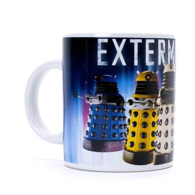 Doctor Who - Dalek Exterminate Coffee Mug