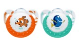 NUK Disney Finding Dory Trendline Soothers for 0-6 Months (2 Pack)