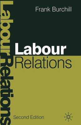 Labour Relations by Frank Burchill image