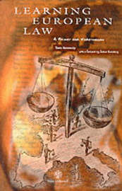 Learning European Law: A Primer and Vade-Mecum by Tom Kennedy image