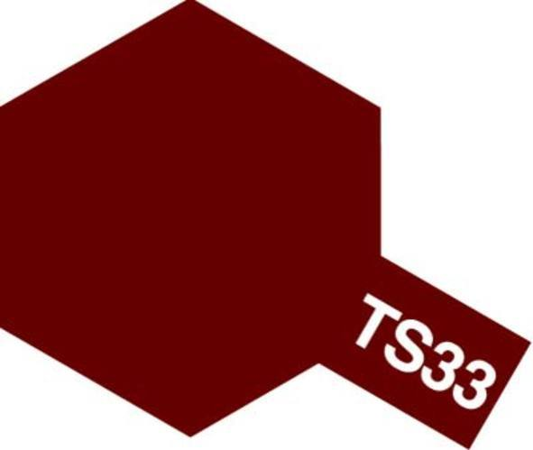 Tamiya TS-33 Dull Red - 100ml Spray Can