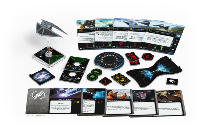 Star Wars X-Wing Second Edition TIE/sk Striker Expansion Pack image