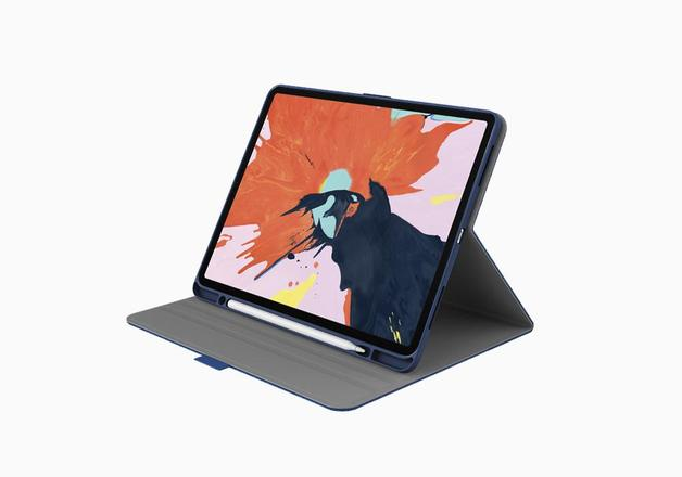 "Cygnett: TekView with Apple pencil holder for iPad Pro 12.9"" Navy/Blue"