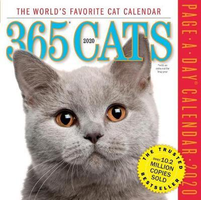 2020 365 Cats Colour Page-A-Day Calendar by Workman Publishing image