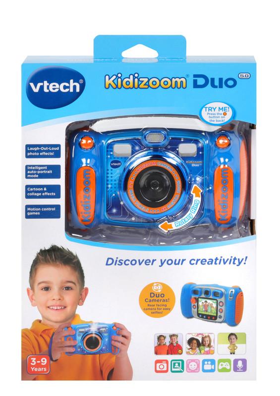 Vtech: Kidizoom Duo 5.0 Camera - Blue