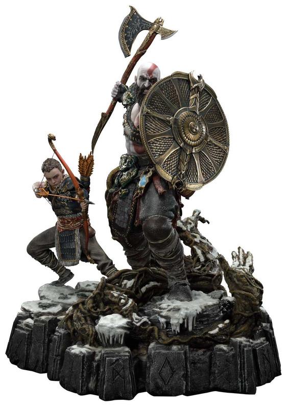 "God of War: Kratos & Atreus - 28"" Premium Statue"