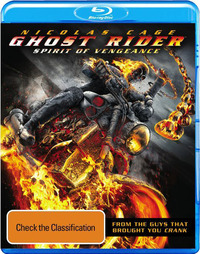 Ghost Rider: Spirit of Vengeance - Triple Play on DVD, Blu-ray, DC