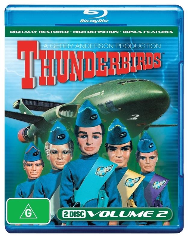 Thunderbirds (1965) - Volume 2 on Blu-ray