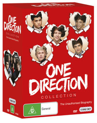 One Direction Collection Box Set on DVD