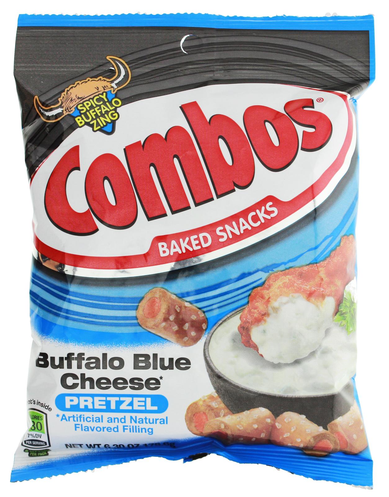 Combos Buffalo Blue Cheese Pretzel Baked Snacks (178.6g) image
