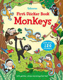 Monkeys First Sticker Book by Jessica Greenwell