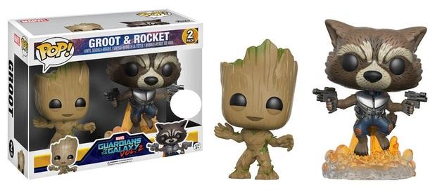 Guardians of the Galaxy: Vol. 2 - Groot & Rocket Pop! Vinyl 2-Pack