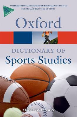 A Dictionary of Sports Studies by Alan Tomlinson image
