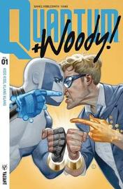 Quantum and Woody! (2017) Volume 1: Kiss Kiss, Klang Klang by Daniel Kibblesmith