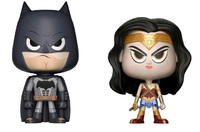 Wonder Woman + Batman - Vynl. Figure 2-Pack