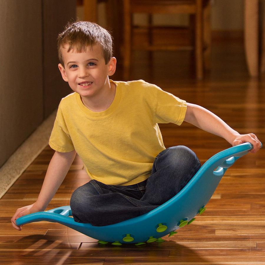 Fat Brain Toys: Teeter Popper - Blue image
