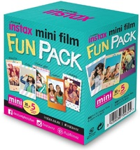 Fujifilm Instax Mini Film - 50 Pack (Fun Pack)