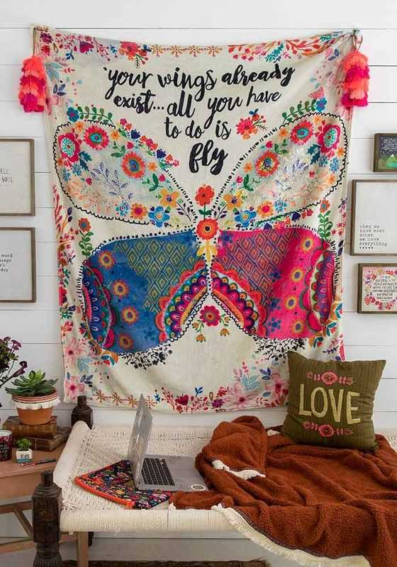Natural Life: Cozy Blanket - Your Wings Exist