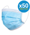 Protective Face Mask (Box of 50 Masks)