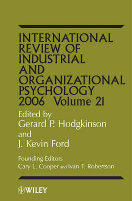 International Review of Industrial and Organizational Psychology image