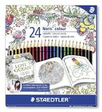 Staedtler - Noris Colour Pencils Johanna Basford - Pack of 24